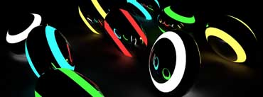 3d Neon Balls Cover Photo