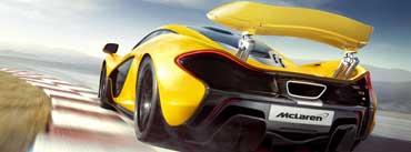 Mclaren P1 Supercar Cover Photo
