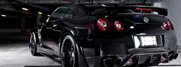 Nissan Gtr Stunning Black Cover Photo
