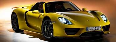 Porsche 918 Spyder Cover Photo