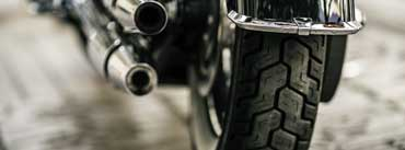 Motorcycle Wheel Cover Photo