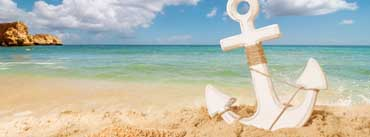 Anchor On The Beach Cover Photo