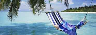 Beach Hammock Relaxing Cover Photo