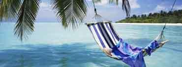 Beach Hammock Relaxing Cover Photo