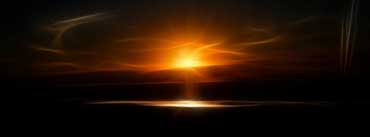 A Fractal Sundown Cover Photo