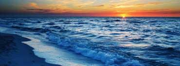 Ocean Sunset Cover Photo