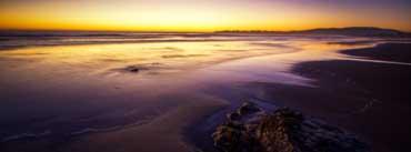 Purple Beach Landscape Cover Photo