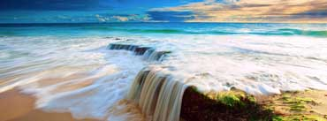 Sea Wave Waterfall Cover Photo