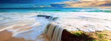 Sea Wave Waterfall Cover Photo