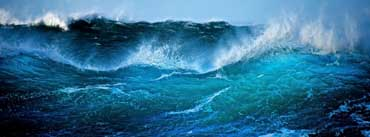 Big Blue Wave Cover Photo