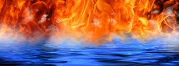 Fire Meet Water Cover Photo