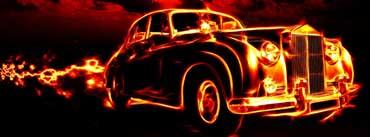 Fire Car Cover Photo