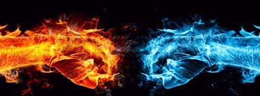 Fire Fist Vs Water Fist Cover Photo