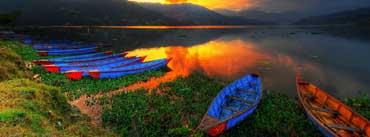 Boats Lake Scenery Cover Photo