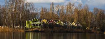 Houses On Water Cover Photo