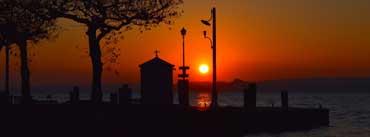 Lake Sunset Cover Photo