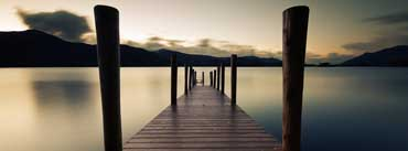 Pier Dawn Lake Cover Photo