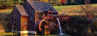 Gristmill Guilford Vermont Cover Photo