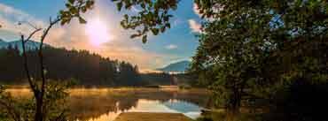 Sun Rise Carinthia Austria Egelsee Cover Photo
