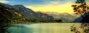 Beautiful Mountains Lake Cover Photo