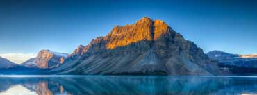Bow Lake In Summer Cover Photo