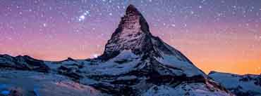 Mountain At Night Cover Photo