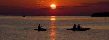 Riverside Sunset Cover Photo