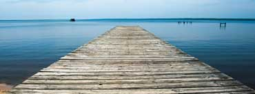 Paradise River Dock Cover Photo