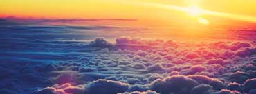 Sunrise Above The Clouds Cover Photo