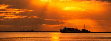 Ships Sunset Cover Photo