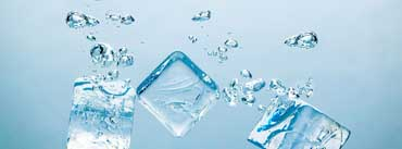 Ice Cubes Bubbles Cover Photo
