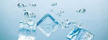 Ice Cubes Bubbles Cover Photo