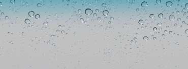 Ios 5 Wallpaper Water Drops Cover Photo