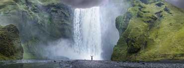 Nature Waterfall Cover Photo
