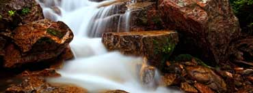 Rocky Waterfall Cover Photo