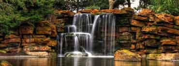 Beautiful Small Waterfall Cover Photo