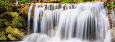 Rainforest Waterfall Cover Photo