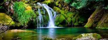 Waterfall Scenery Cover Photo
