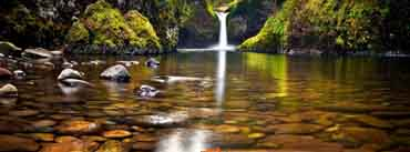 River Waterfall Cover Photo