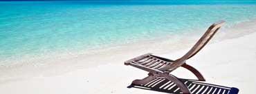 Beach Lounge Chair Cover Photo