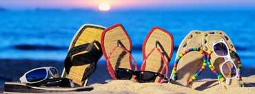 Beach Slippers Cover Photo