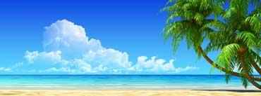 Breath Taking Tropical Beach Cover Photo