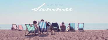 Summer Beach Chairs Cover Photo