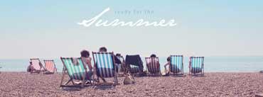 Summer Beach Chairs Cover Photo