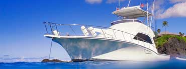 Yacht Clear Blue Ocean Cover Photo