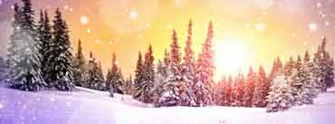 Snowing Sunset Cover Photo