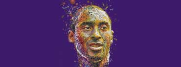Kobe Bryant Portrait Cover Photo