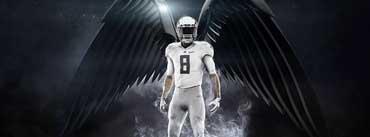 College Nfl Football Uniform Cover Photo