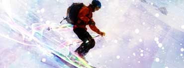 Skiing Down Hill Cover Photo