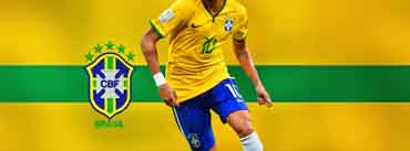 Neymar Brazil World Cup Cover Photo